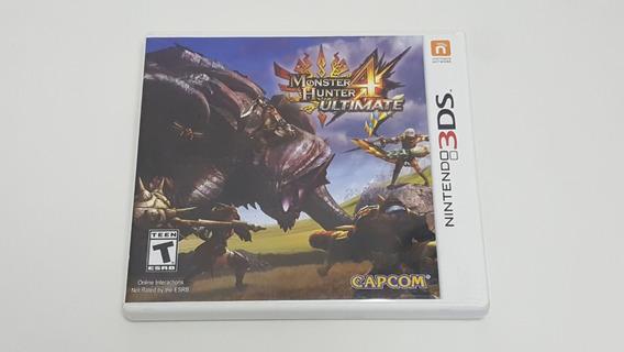 Jogo Monster Hunter 4 Ultimate - Nintendo 3ds - Original