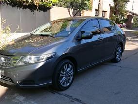 Honda City 1.5 Lx Mt 120cv 2014 Gris 1 Mano Service Oficial