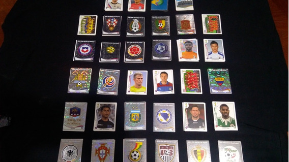 Estampas Mundial Brasil 2014 ¡¡tenemos Todas Disponibles!!