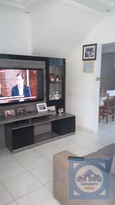 Casa Com 2 Dormitórios À Venda, 80 M² Por R$ 360.000 - Areia Branca - Santos/sp - Ca0773