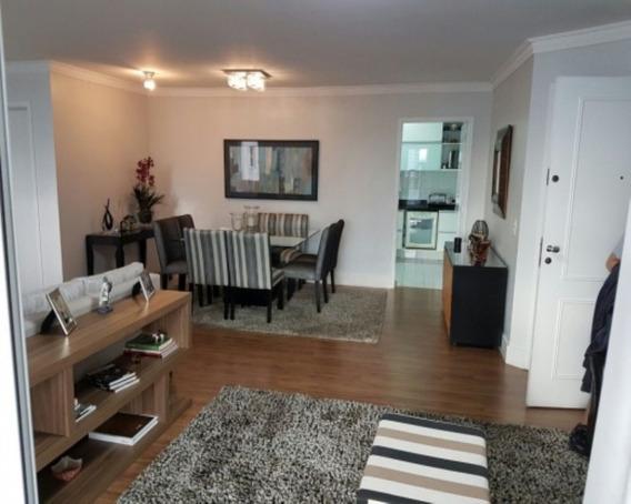 Apartamento Excelente No Bairro Jardim, Com 117 M² Sendo 3 Dormitórios 1 Suítes 2 Vagas, Varanda Com Churrasqueira. - 08877ap - 32206381