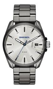Relógio Diesel Original Masculino Aço Dz1864/1cn De Luxo