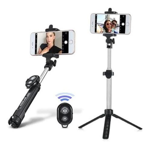 Bastão De Selfie 3 Em 1 Com Tripe Suporte Celular Hmaston