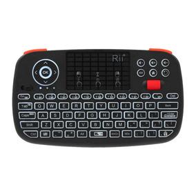 Rii I4 Mini Teclado Sem Fio Bluetooth E Modos Dual 2.4ghz