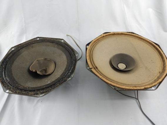 Alto Falantes Antigos Retirados De Caixa De Som Philips