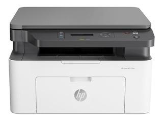 Impresora multifunción HP LaserJet Pro M135W con wifi 110V - 127V blanca y negra