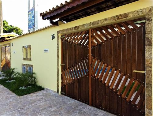 Linda Casa Com Piscina - Tupy -itanhaém/sp