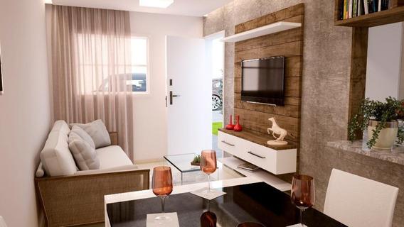 Casa Em Chácaras Versalhes, Araçatuba/sp De 49m² 2 Quartos À Venda Por R$ 115.000,00 - Ca93784