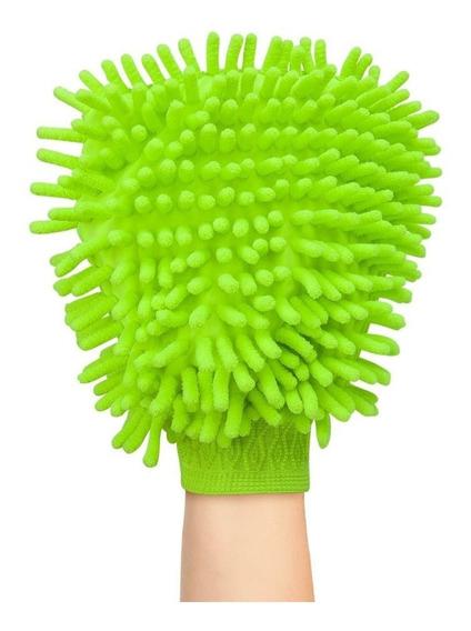 10 Luva Para Lavar Carro E Limpeza Doméstica Microfibra