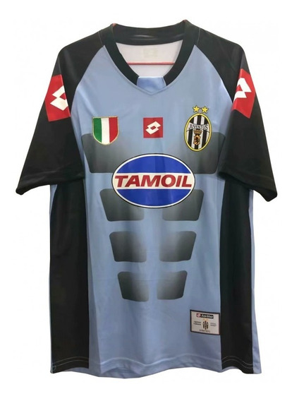Camisa Retro Juventus Lotto Buffon #1 2002/03 Pronta Entrega