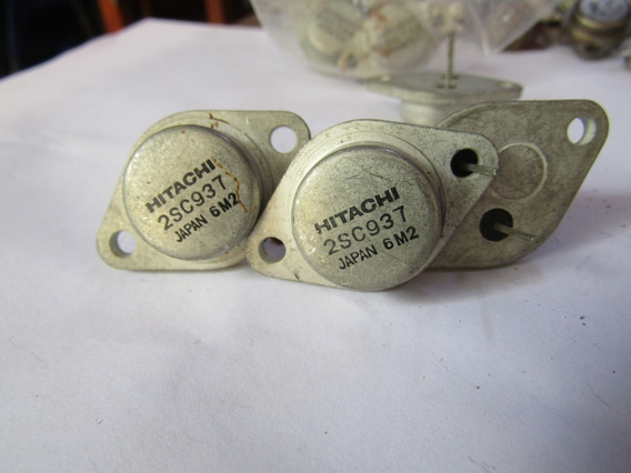 2 Transistor 2sc937 Hitachi Vintage - Original - Novos