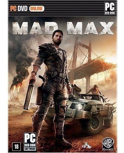 Mad Max Para Computador Original Lacrado
