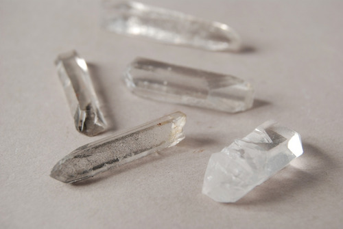 Piedra Mineral Puntas De Cuarzo Láser Nro. 5
