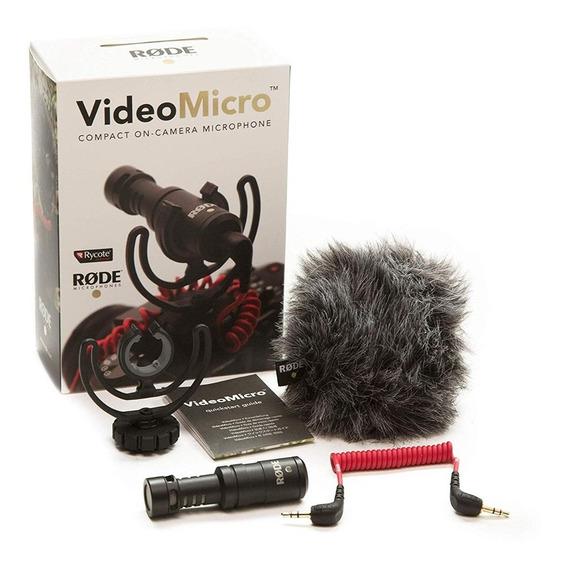 Micrófono Rode Video Micro On Camara Direccional/ Factura