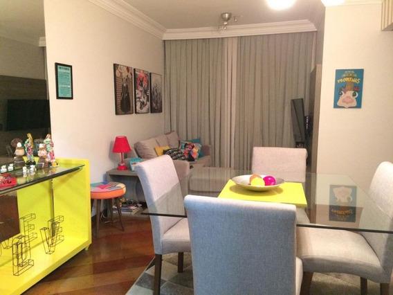 Apartamento Com 3 Dormitórios Para Alugar, 78 M² Por R$ 2.800,00/mês - Vila Guiomar - Santo André/sp - Ap8291
