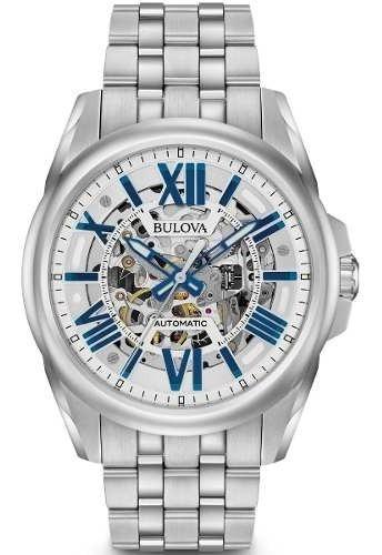 Relógio Bulova 96a187 Automatico Skeleton Lançamento