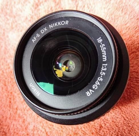 Lente Nikon 18.55 Semi Nova