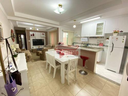 Apartamento Com 2 Dormitórios À Venda, 70 M² Por R$ 330.000 - Vila Pires - Santo André/sp - Ap2835