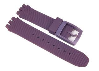 Correa Malla Reloj Swatch Purple Funk Suiv400 | Asuiv400