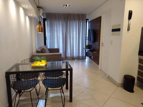 Imagem 1 de 30 de Apartamento Com 1 Dormitório Para Alugar, 40 M² Por R$ 150/dia - Meireles - Fortaleza/ce - Ap1972
