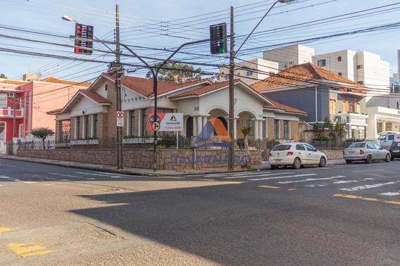 Casa Com 6 Dormitórios Para Alugar, 320 M² Por R$ 12.000/mês - Centro - Ponta Grossa/pr - Ca0537