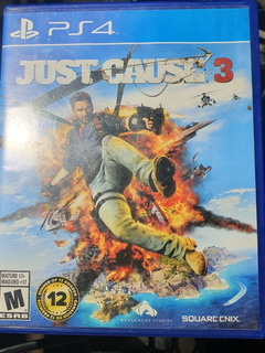 Just Cause 3 / Fisico / Ps4 / Usado