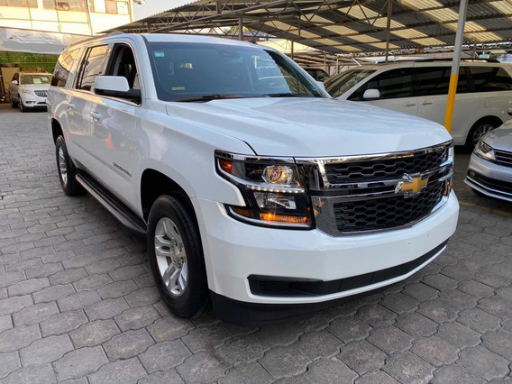 Chevrolet Suburban 5.4 Lt Piel Blanca At 2017
