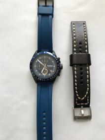 Relógio Masculino Fossil Decker Ch2879 Cor Azul