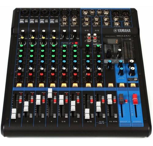 Consola Yamaha Mg12xu 12 Canales Usb Nueva Gtia Libertella