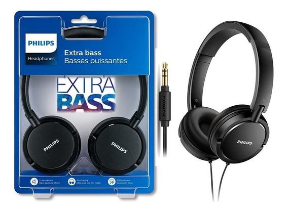 Headphones Philips Extra Bass Original Lacrado