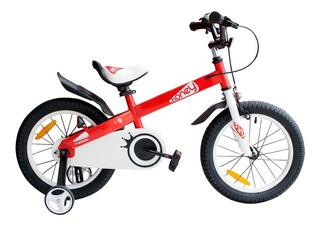 Bicicleta Infantil Niño Niña Royal Baby Honey Rodado 16 Acer