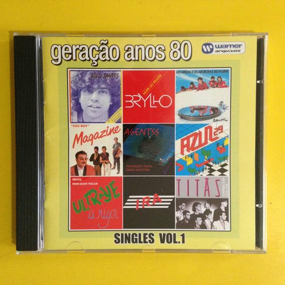 2 Cds Geração Anos 80 Singles Volumes 1 & 2 Warner Arquivos