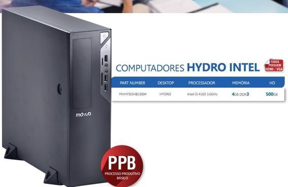 Computador Hydro Intel I3 - Linux