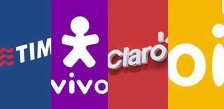 Recarga Celular Online Tim Claro Vivo Oi $100pague $80!