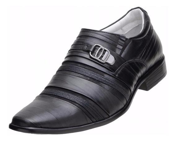 Sapato Social Couro Legítimo Classe A Qualidade Garantia