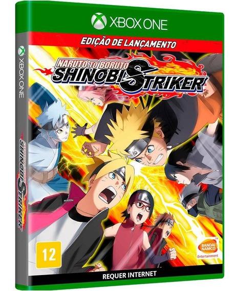 Naruto Boruto Shinobi Striker Xbox One Midia Fisica Novo