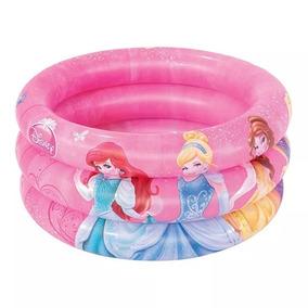 Piscina Princesa Infantil Inflável Princesas 38 Lts Linda