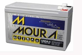 Bateria Estacionária Moura 12 Volts 9 Ah No-break