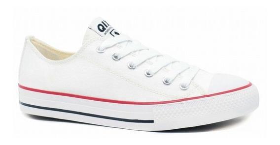 Tênis Qix Hills Low Branco Original All Star Unissex