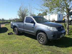 Toyota Hilux Cabina Simple 4x4 2010