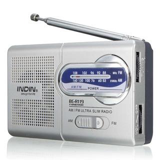 Radio Receptor Telescópico Antena Mundo Receptor 3.5mm
