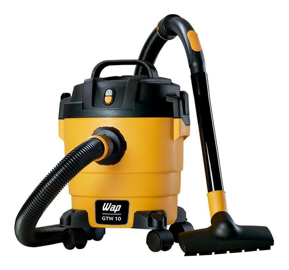 Aspirador Wap GTW 10 10L amarelo e preto 110V