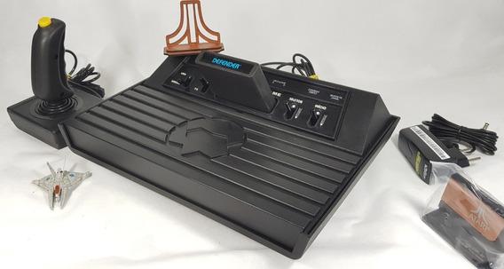 Console Dactar Milmar [ Atari 2600 ] + Controle Original + Fonte Bi-volt Nova Chaveada + Jogo + Brinde, Revisado [iplay]