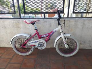 Bicicleta Raleigh Lil Honey Rodado 16 Paseo Rosa Lista !