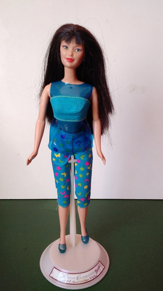 Boneca Kira Amiga Japonesa Barbie Sit In Style Mattel Taffy