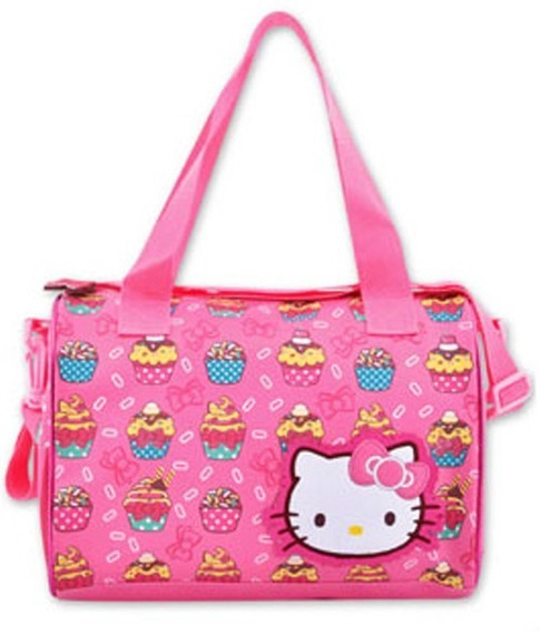 Cartera Hello Kitty Original Sanrio Morral Cupcakes