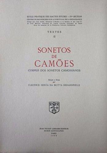 Textes Ii Sonetos De Camões . Corpus Dos Sonetos Camonianos