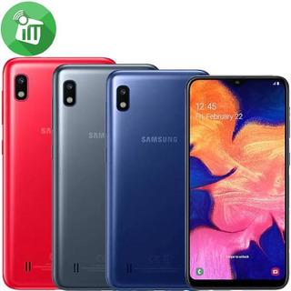 Samsung A10 32gb +2ram+ Forro+vidrio Lte Tienda Fisica 130