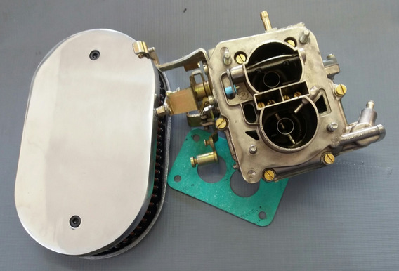 Filtro Marmita E Carburador Para Marajó Motor Cht 1.6 Álcool
