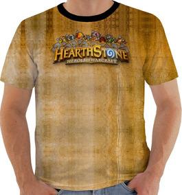 Camiseta Gw Hearthstone Game Luta Gw